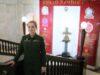 Курсант Алиса БУЛАВИНА во время стажировки в Военной академии МТО в Санкт-Петербурге.