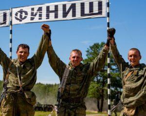 Дебютное выступление команды 1-йй мобильной бригады РХБ защиты на первых АрМИ завершилось успехом.