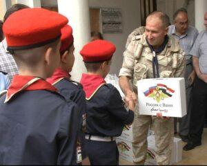 Российские военнослужащие оказали помощь жителям Эль-Камышлы