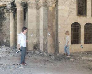 В Алеппо российские археологи обследуют древний памятник культуры.