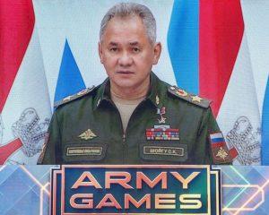Армейские игры укрепляют мир.
