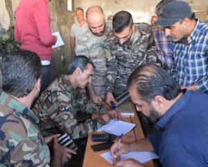 На сегодняшний день в провинции Деръа амнистию получили около 10 тысяч человек, изъято несколько тысяч единиц стрелкового оружия.