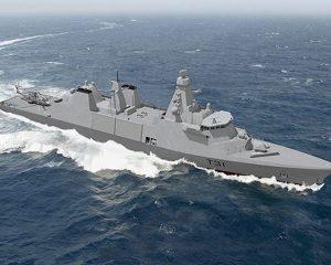 Великобритания Строят новые фрегаты.